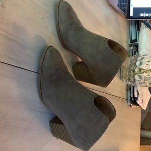 Sonoma Open Back Heels